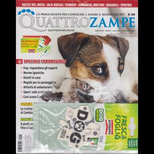 Quattro Zampe - n. 149 - mensile - aprile 2020 +  in omaggio il profumatore per auto Pet-Friendly