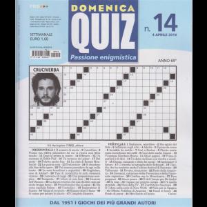 Domenica Quiz - n. 14 - settimanale - 4 aprile 2019 -