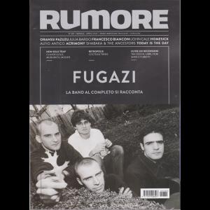 Rumore - Fugazi - n. 339 - mensile - aprile 2020