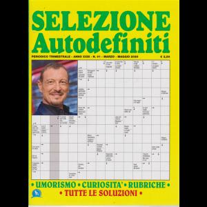 Selezione Autodefiniti - n. 91 - trimestrale - marzo - maggio 2020