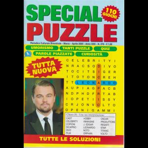 Special Puzzle - n. 278 - bimestrale - marzo - aprile 2020 - 110 giochi - Leonardo Di Caprio