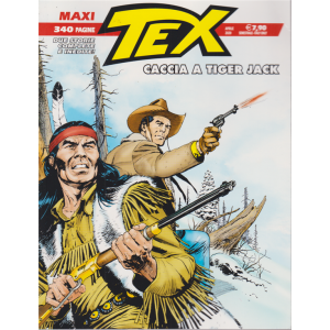 Maxi Tex - n. 26 - Caccia a Tiger Jack - aprile 2020 - semestrale - 340 pagine -