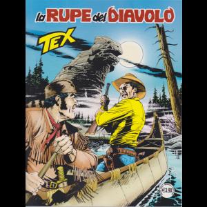 Tex - La rupe del diavolo - n. 714 - mensile - aprile 2020