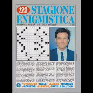 Stagione Enigmistica - n. 98 - trimestrale - aprile - giugno 2019 - 196 pagine