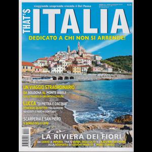 That's Italia - n. 35 - aprile - maggio 2020 - bimestrale -