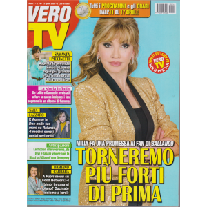Vero Tv - n. 14 - 13 aprile 2020 - settimanale