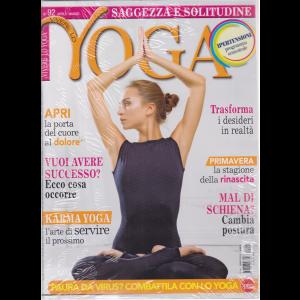 Vivere lo Yoga - n. 92 - aprile - maggio 2020 + cd - meditazioni guidate