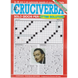 Il Cruciverba - n. 315 - mensile - 7/4/2020