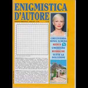 Enigmistica d'autore - n. 200 - bimestrale - maggio - giugno 2020