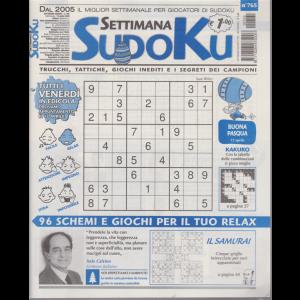 Settimana Sudoku - n. 765 - settimanale - 10 aprile 2020