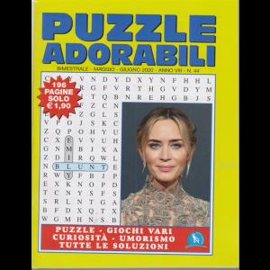 Puzzle  adorabili - n. 44 - bimestrale - maggio - giugno 2020 - 196 pagine
