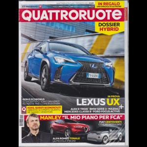 Quattroruote + - Top Gear - n. 764 - aprile 2019 - mensile - 2 riviste
