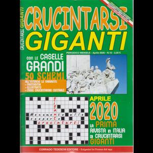 Crucintarsi giganti - n. 10 - mensile - aprile 2020
