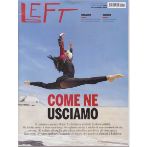 Left Avvenimenti - n. 15 - 10 aprile 2020 - 16 aprile 2020 - settimanale