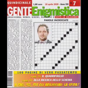 Gente enigmistica - n. 7 - quindicinale - 10 aprile 2020 - 100 pagine di vero passatempo