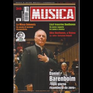 Musica - n. 315 - mensile - 2/4/2020