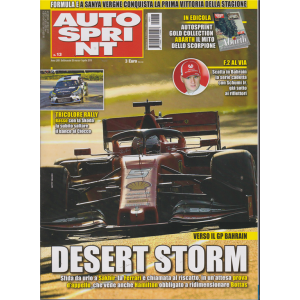 Autosprint - n. 13 - settimanale - 26 marzo - 1 aprile 2019 -