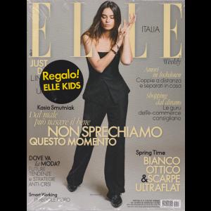Elle + Elle Kida - n. 14 - 25/4/2020 - settimanale - 2 riviste