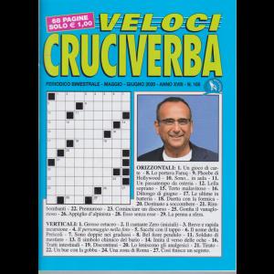 Veloci Cruciverba - n. 105 - maggio - giugno 2020 - bimestrale - 68 pagine