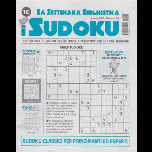 La settimana enigmistica - i sudoku - n. 90 - 9 aprile 2020 - settimanale