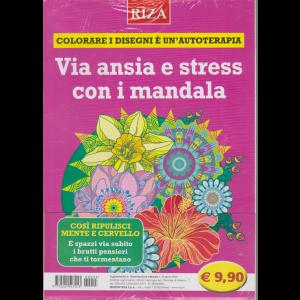 Alimentazione naturale - Via ansia e stress con i mandala - n. 55 - aprile 2020 -