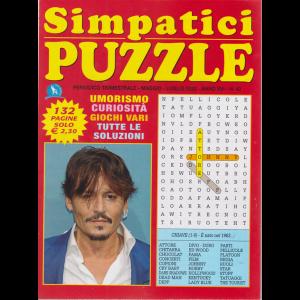Simpatici  Puzzle - n. 42 - trimestrale - maggio - luglio 2020 - 132 pagine