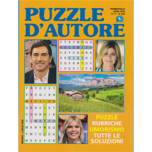 Puzzle D'autore - n. 71 - trimestrale - maggio - luglio 2020