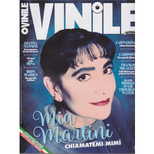 Vinile - n. 25 - trimestrale - maggio - luglio 2020 -