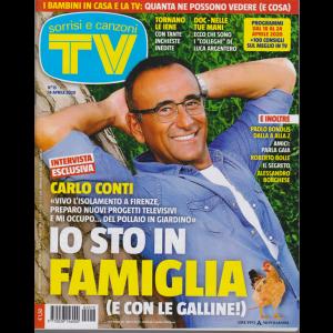 Sorrisi e  Canzoni Tv - n. 15 - 14 aprile 2020 - settimanale