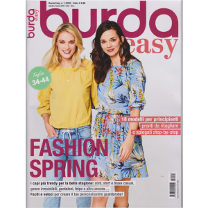 Burda Easy - Fashion Spring - n. 1 - 15/4/2020 - bimestrale