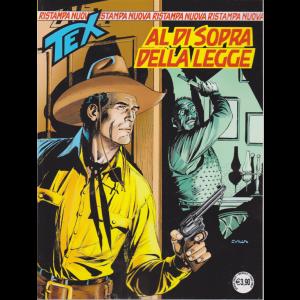 Tex Nuova Ristampa - Al di sopra della legge - n. 456 - mensile - aprile 2020