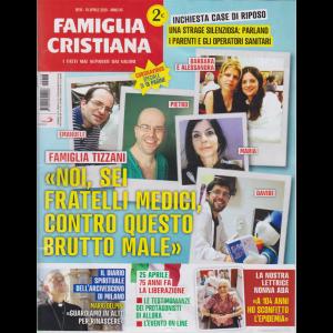 Famiglia Cristiana - n. 16 - 19 aprile 2020 - settimanale