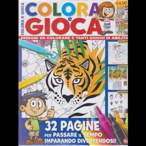 Colora e Gioca - n. 1 - bimestrale - maggio - giugno 2020