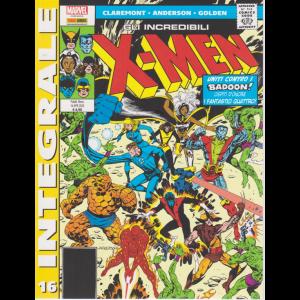 Marvel Integrale - Gli incredibili X-men - n. 16 - mensile - 16 aprile 2020