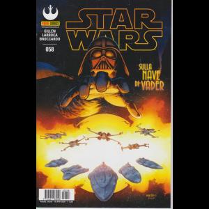 Star Wars - Sulla nave di Vader - n. 58 - mensile - 16 aprile 2020 -