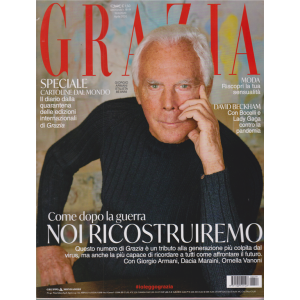 Grazia* - n. 19 - settimanale - aprile 2020