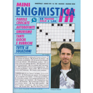 Mini Enigmistica In - n. 100 - bimestrale - maggio - giugno 2020 - 68 pagine
