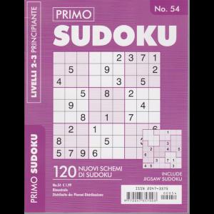 Primo Sudoku - n. 54 - bimestrale - livelli 2-3 principianti
