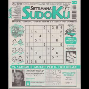 Settimana Sudoku - n. 767 - settimanale - 24 aprile 2020 -