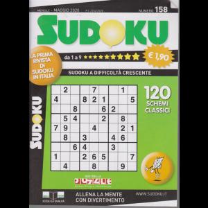 Sudoku - n. 158 - maggio 2020 - mensile