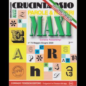 Maxi Crucintarsio - n. 73 - maggio - giugno 2020 - trimestrale -