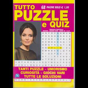 Tutto Puzzle e  Quiz - n. 67 - bimestrale - maggio - giugno 2020 - 68 pagine