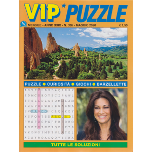Vip Puzzle - n. 336 - mensile - maggio 2020 -