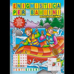 Enigmistica per bambini - n. 146 - bimestrale - giugno - luglio 2020 - 52 pagine tutte a colori