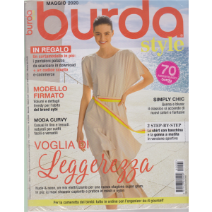 Burda style - n. 5 - maggio 2020 - mensile