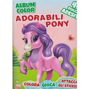 Toys2 Almanacco - Album color - Adorabili pony - n. 29 - bimestrale - 19 marzo 2020