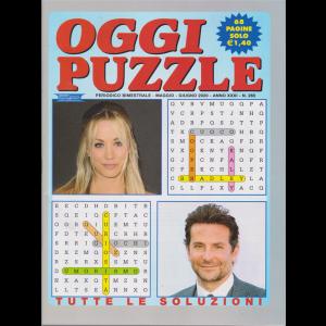 Oggi Puzzle - n. 265 - bimestrale - maggio - giugno 2020 - 68 pagine
