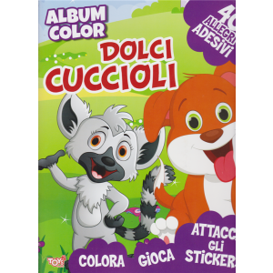 Album color Dolci cuccioli - n. 48 - bimestrale - 19 marzo 2020 -