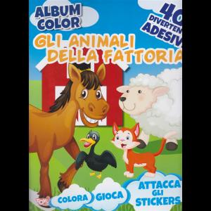 Album color -  Gli animali della fattoria - n. 59 - bimestrale - 19 marzo 2020 -