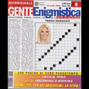 Gente Enigmistica - n. 8 - 24 aprile 2020 - quindicinale - 100 pagine di vero passatempo